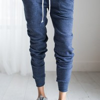 Eco Blue Joggers – Ily Couture