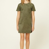 Girls Faux Suede Dress (Kids)