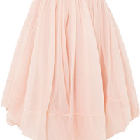 Jil Sander - Gathered tulle skirt