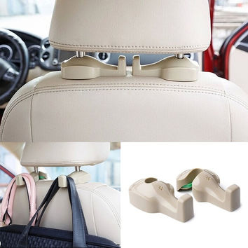 NEW Car Seat Truck Coat Hook Purse Bag Hanging Hanger Auto Bag Organizer Holder = 1930423428