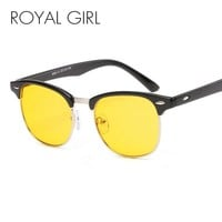ROYAL GIRL Fashion Men Women Night Vision Sunglasses - Free Shipping