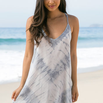 Blue Life - Exile Dress | White Feather