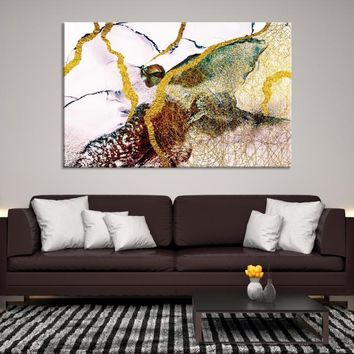55605 - Abstract Watercolor Art | Ink Painting Art | Refined Wall Art | Creative Wall Art | Abstract Wall Art | Large Abstract Canvas