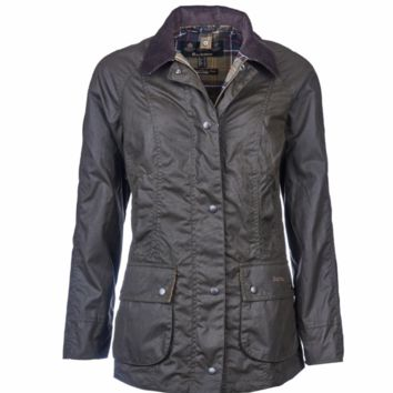Barbour, Classic Beadnell Wax Jacket, Olive
