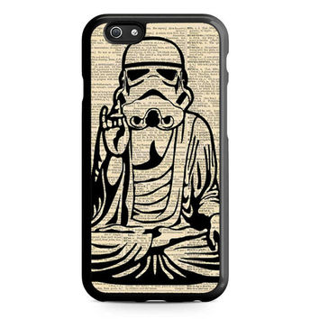 STORMTOOPER BUDDHA Star Wars Artwork Iphone 5 Case