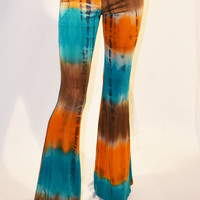 Hippe Tie Dye Yoga Flare Pant