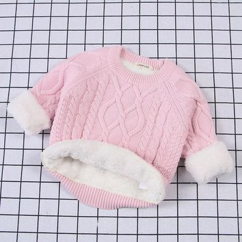 Classic Cable Knit Irish Sweater 1-7 Years