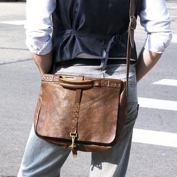 Impressa Handmade Leather Messenger Bag