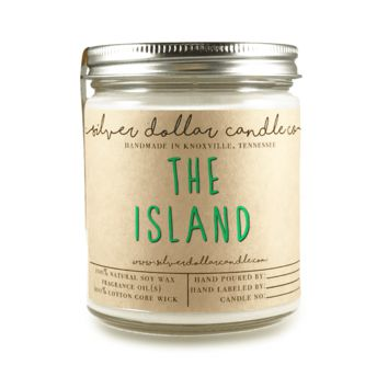 The Island - 8oz Soy Candle