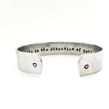 Graduation Gift - Daughters Gift -Affirmation Jewelry - Go Confidently In The Direction Of Your Dreams - Message Bracelet - Graduation Gift