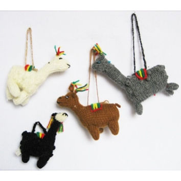 Hanging Alpaca Ornaments