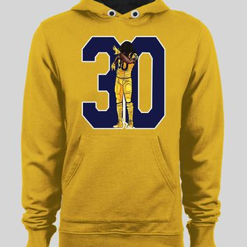 LOS ANGELES RAM'S DABBING TODD GURLEY WINTER HOODIE/ SWEATER