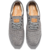 GREY HERRINGBONE WOMEN'S CORDONES