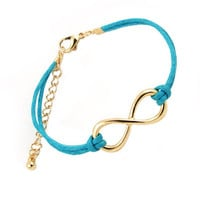 Blue Infinity Bracelet from Caitlin's Bowtique