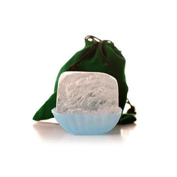Lafes Natural Deodorant Crystal Stone With Pouch And Dish - 6 oz