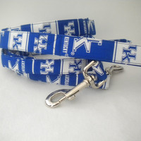 University of Kentucky Dog Leash  Ready to by SweetPoochofMine