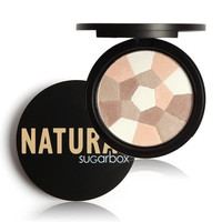 Sugar box Cosmetics Multi-Colored Pressed Natural Face Powder Palettes Foudation Nude Wear Nude Glow Setting Powder Makeup [8096932871]