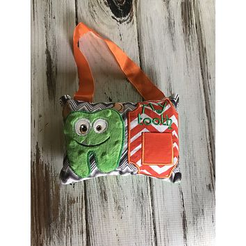 Hanging Tooth Fairy Monster Pillow RTS