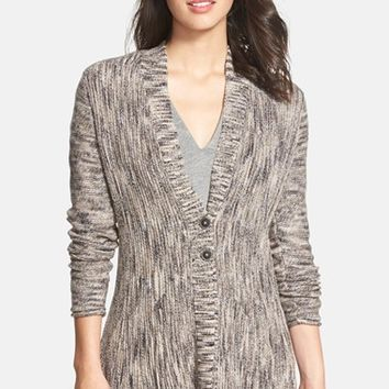 Women's NIC+ZOE 'Mixy Cables' Two Button Cardigan (Nordstrom Exclusive)