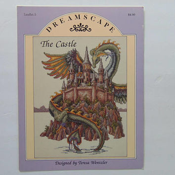 Dreamscape The Castle Leaflet 5 Cross Stitch Pattern Booklet