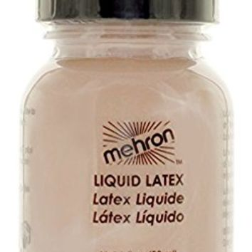 Mehron Makeup Liquid Latex Light Flesh, 1 ounce