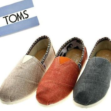"TOMS Women Fashion ""National lace"" FLAT SHOES CLASSICS FLAT TOMS SHOES"