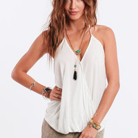 Go With The Flow Halter Top