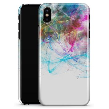 Neon Multi-Colored Paint in Water - iPhone X Clipit Case