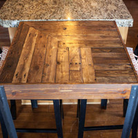 Custom Order for Giulia- Pallet Wood Bistro Table