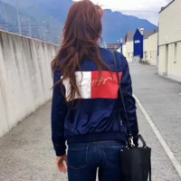 '' Tommy Hilfiger '' Women Embroidered jacket