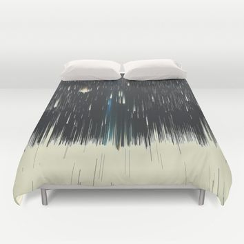warpspeed Duvet Cover by DuckyB