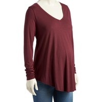 Old Navy Maternity Soft V Neck Tee