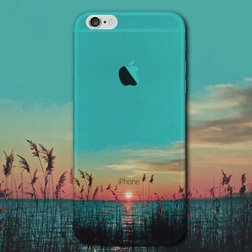 Beautiful Sunset Tourism Scenery iPhone 5 5S iPhone 6 6S Plus Case Gift-124