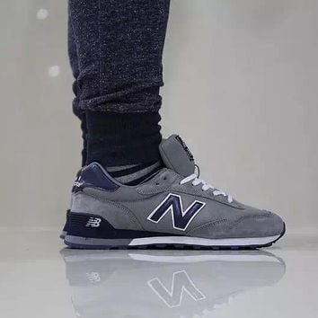 new balance ml515 grey deep blue