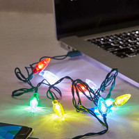 Holiday Lights Lightning Cord - Urban Outfitters
