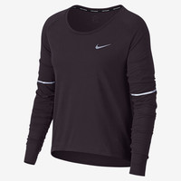 The Nike Breathe Women's Long Sleeve Running Top.