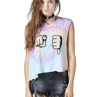 U SUCK CROP - Tees - WOMENS