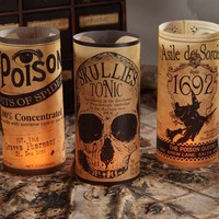 Apothecary Luminary Covers (Set of 6)