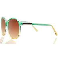 Quay Stevie Green Sunglasses