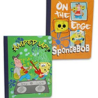 2 Pk, SpongeBob SquarePants Nickelodeon Kids Composition Notebook