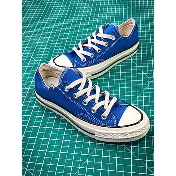 Converse Chuck Taylor All Star 1970s Blue Low Canvas Shoes