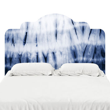 Zig Zag Dye Headboard Decal