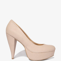 Cone Heel Pumps