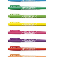 10pcs Lot 12 Colors Double Headed Oil-based Small Point Paint Permanent Markers Pen