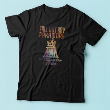 Fall Out Boy Paramore Men'S T Shirt