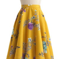 Eye for Ikebana Skirt | Mod Retro Vintage Skirts | ModCloth.com