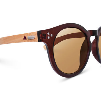 Wooden Sunglasses // Rina 53