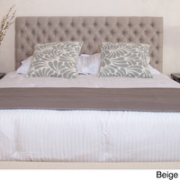 Christopher Knight Home Jezebel Queen Button Tufted Fabric Headboard