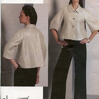 Vogue Designer Pattern 1098 Anne Klein Jacket & Pants