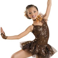 Sequin Lace Camisole Dress; Weissman Costumes